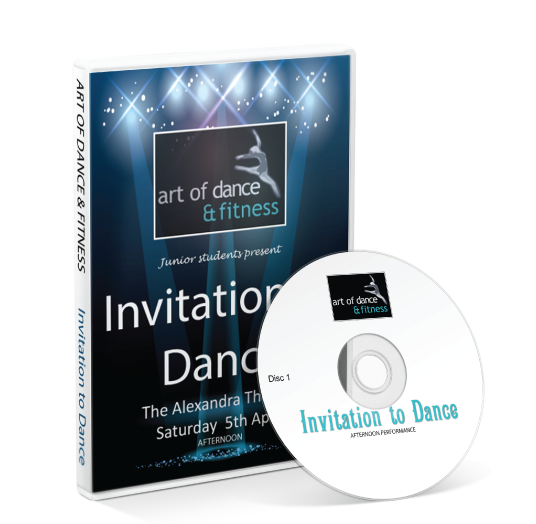 Art Of Dance And Fitness - Invitation to Dance DVD