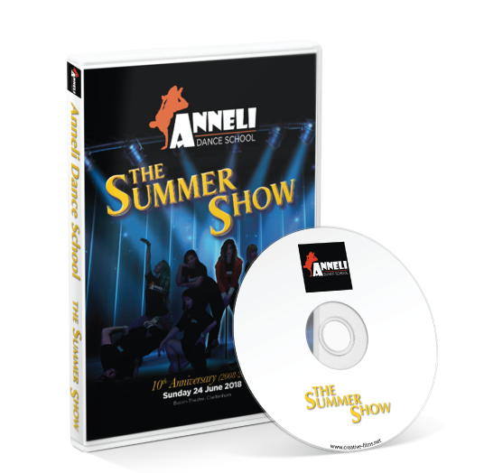 Anneli Dance - Summer Show 2018 DVD