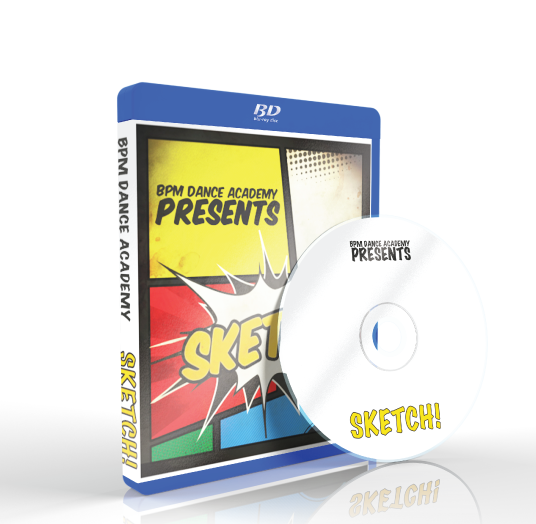 BPM Dance Academy - Sketch Blu-ray