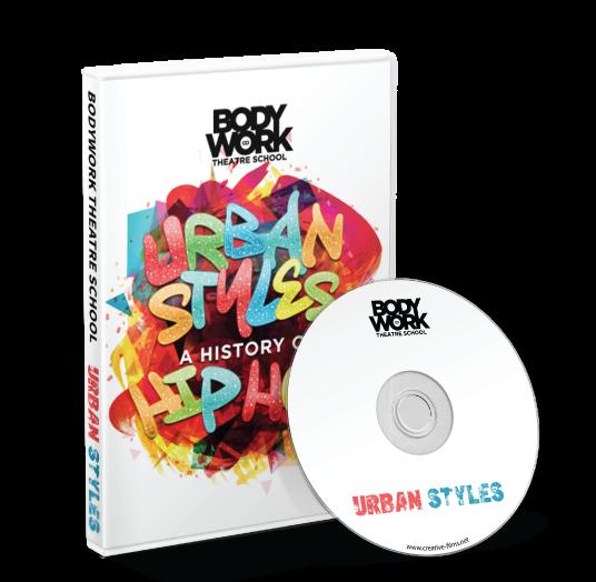 Bodywork Company Dance Studios - Urban Styles Blu-ray