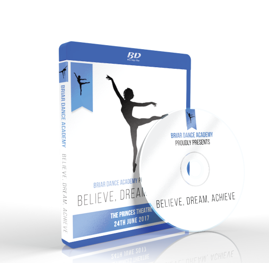 Briar Dance Academy - Believe, Dream, Achieve Blu-ray