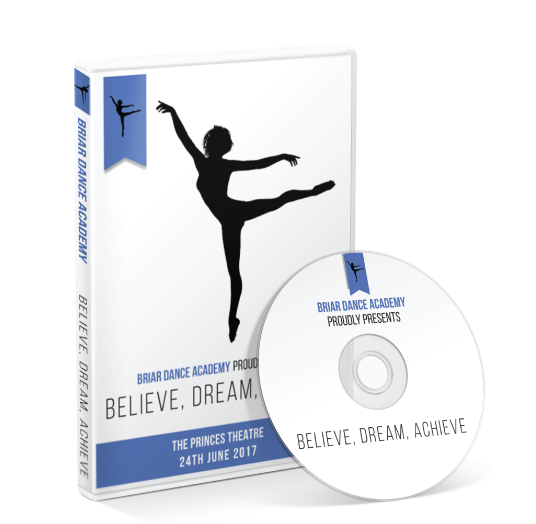 Briar Dance Academy - Believe, Dream, Achieve DVD