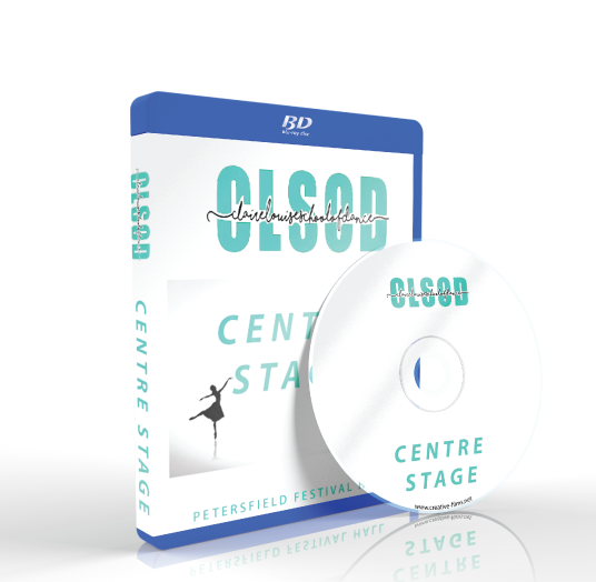 Claire Louise School of Dance - Center Stage Blu-ray