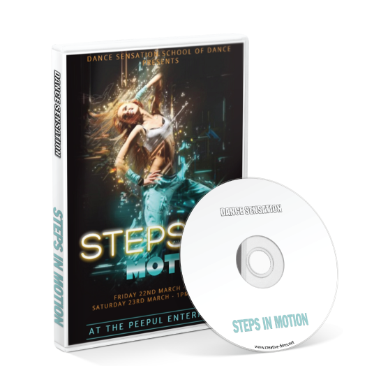 Dance Sensation School Of Dance - Steps in Motion DVD