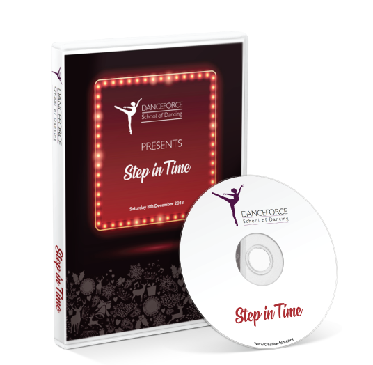 Danceforce School of Dancing - Step in time 2018 DVD