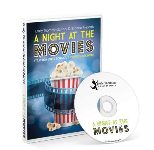 Emily Thornton School of Dance - A Night at the Movies DVD
