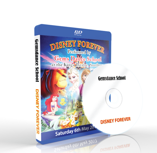 Gemsdance - Disney Forever Blu-ray