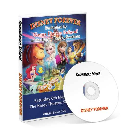 Gemsdance - Disney Forever DVD