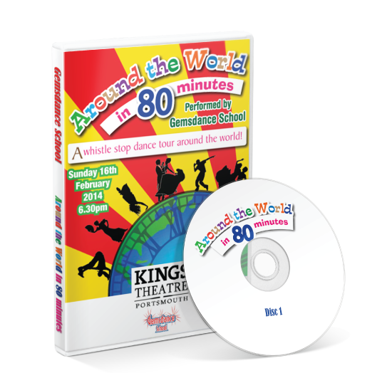 Gemsdance - Around the world in 80 minutes DVD