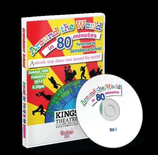 Gemsdance - Around the world in 80 minutes<br /> 16/02/2014 / 18:00