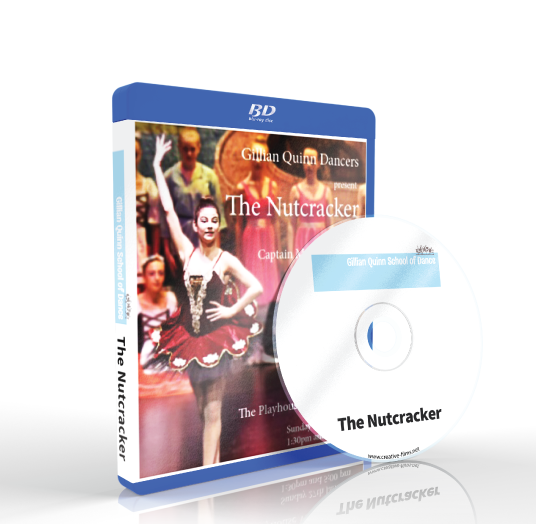 Gillian Quinn School of Theatre Dance - The Nutcracker Matinee Blu-ray