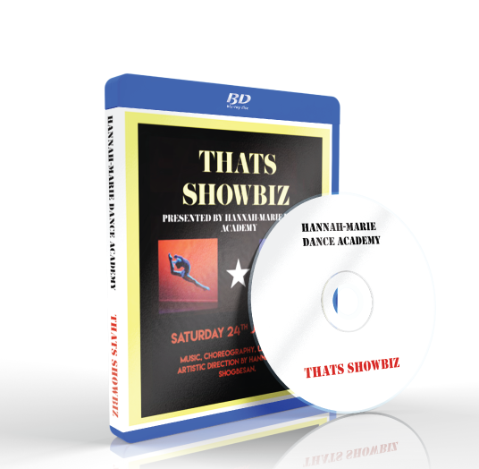 Hannah-Marie Dance Academy - That's Showbiz Blu-ray