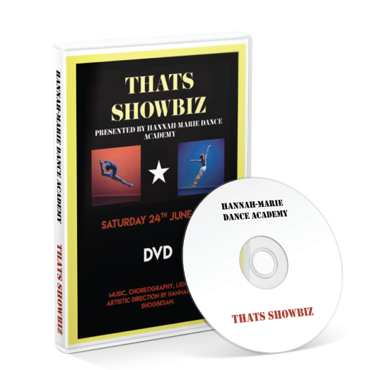 Hannah-Marie Dance Academy - That's Showbiz DVD