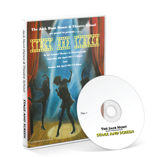Jack Hunt Dance & Theatre School - Stage & Screen DVD