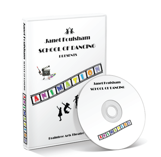 Janet Foulsham School Of Dancing - Animation DVD