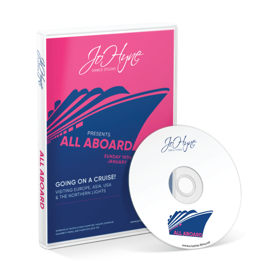 Jo Hyne Dance School - All Aboard DVD