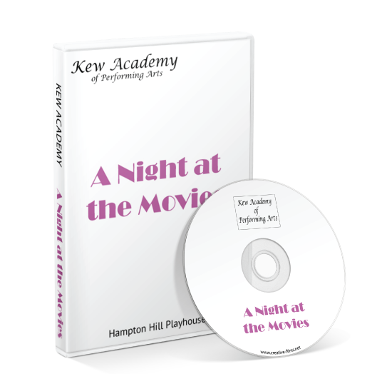 Kew Academy Of Performing Arts - A Night at the Movies DVD