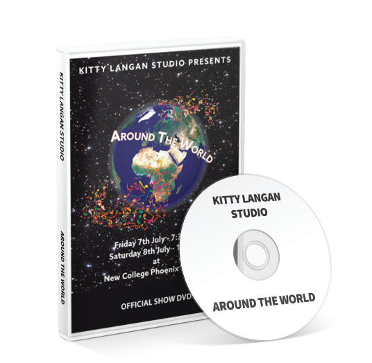 Kitty Langan Studio - Around the World DVD