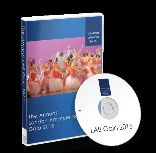 London Amateur Ballet - LAB Gala 2015 DVD