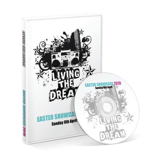 Living the Dream - 2018 Easter Showcase DVD