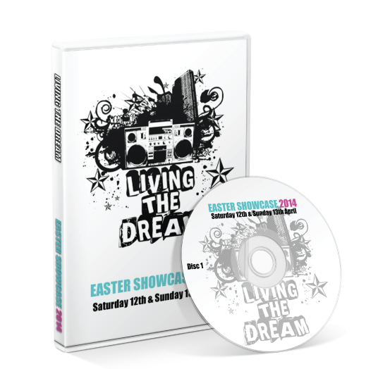 Living the Dream - Easter Showcase 2014 DVD