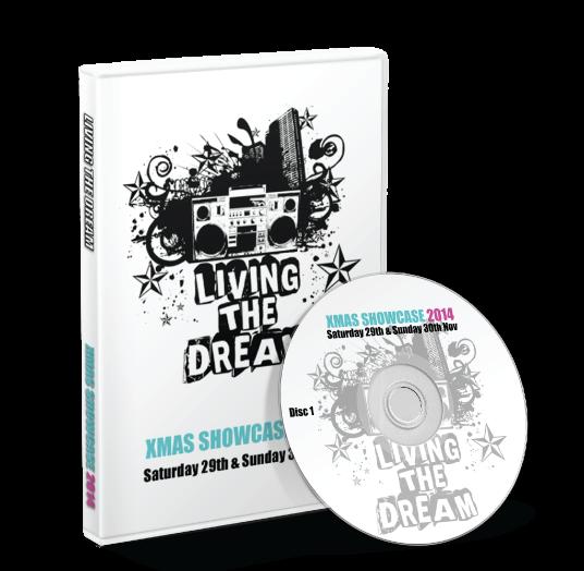 Living the Dream - Xmas show 2014 DVD