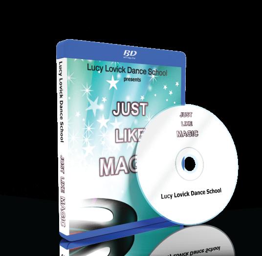 Lucy Lovick Dance School - Just like magic Blu-ray