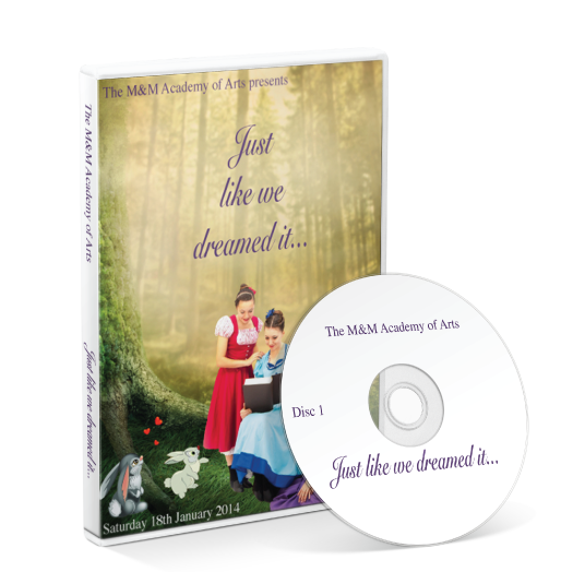 M & M Academy  - Just like we dreamed it DVD