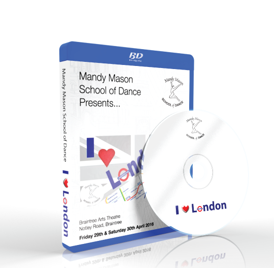 Mandy Mason School Of Dance - I Love London<br />