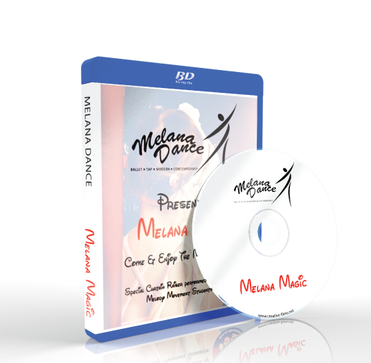 Melana Dance - Melana Magic Blu-ray