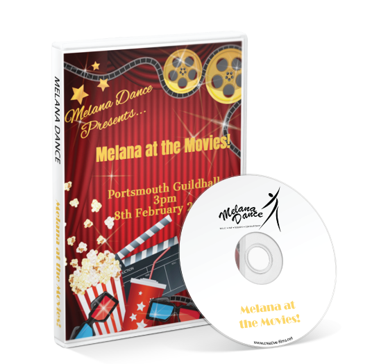 Melana Dance - Melana at the Movies! DVD