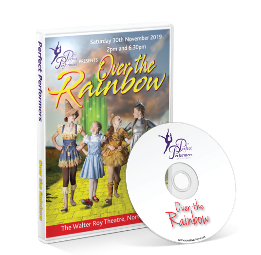 Perfect Performers School of Dance - Over the Rainbow DVD