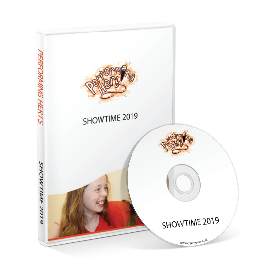 Performing Herts - Showtime 2019 DVD