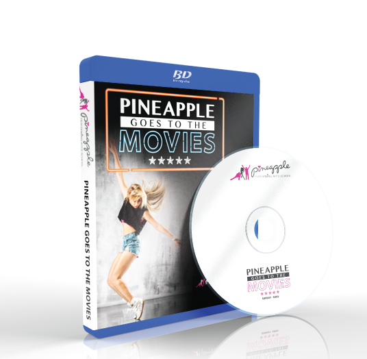 Pineapple Performing Arts School - Pineapple goes to the movies Sunday Blu-ray