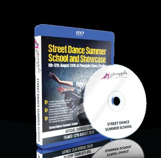 Pineapple Performing Arts School - Street Dance Summer Spectacular Blu-ray