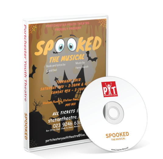 Portchester Youth Theatre - Spooked DVD