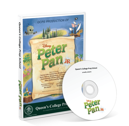 Queen's College Preparatory School - Peter Pan Jr DVD