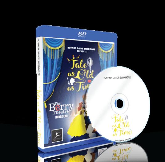 Roynon Dance Swanmore - Beauty and the Beast Blu-ray