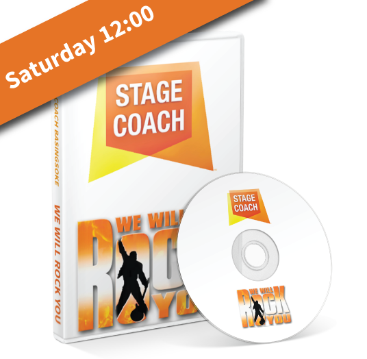 Stagecoach Basingstoke - We Will Rock You - Saturday Lunchtime DVD