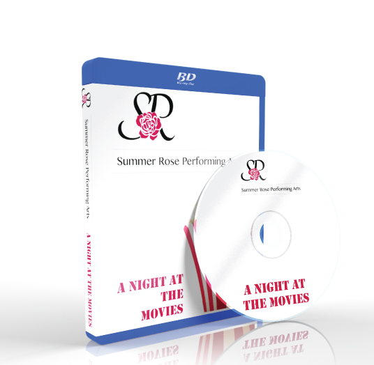 Summer Rose Performing Arts - A Night at the Movies Blu-ray