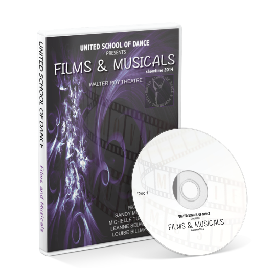 United School of Dance -  DVD