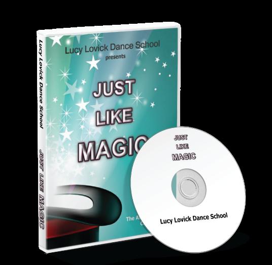 Lucy Lovick Dance School - Just like magic DVD