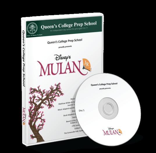 Queen's College Preparatory School - Mulan DVD